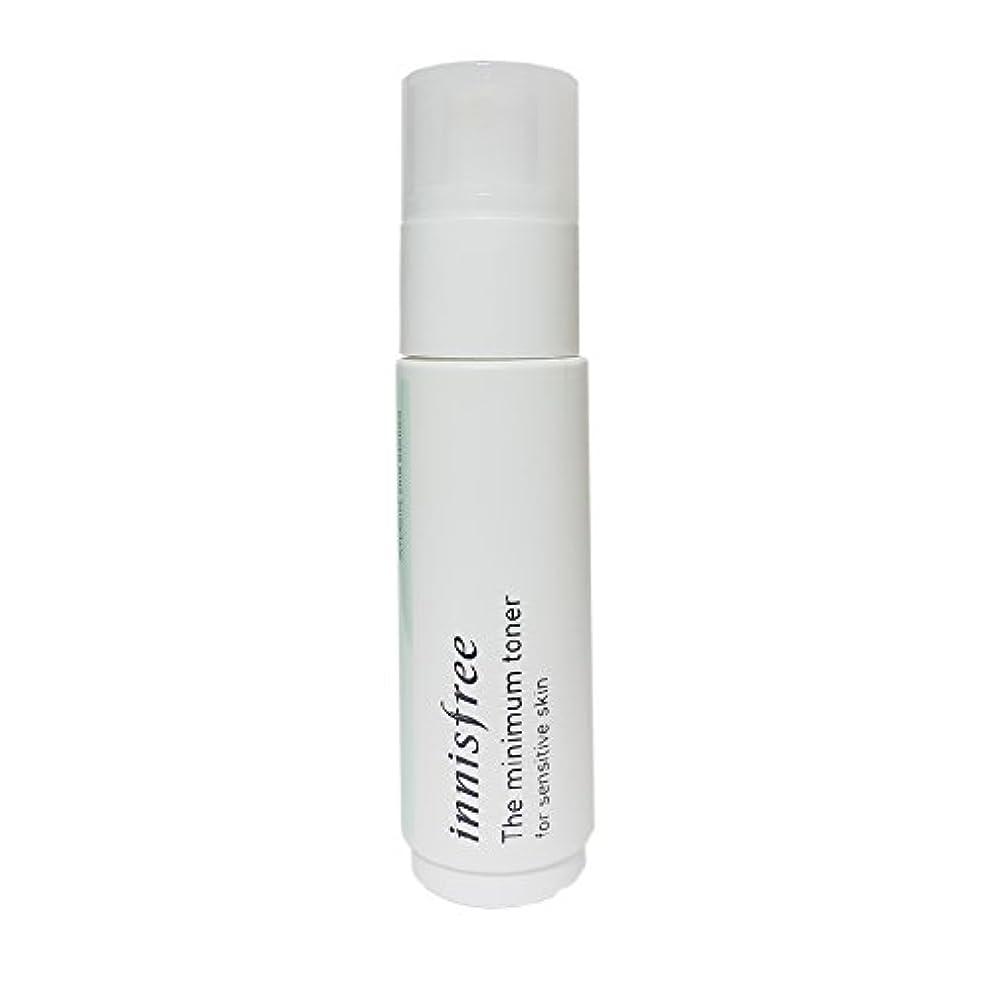 元気ほんの食事[イニスフリー] Innisfree ザミニマム トナー敏感肌用(45ml) Innisfree The Minimum Toner For Sensitive Skin(45ml)  [海外直送品]