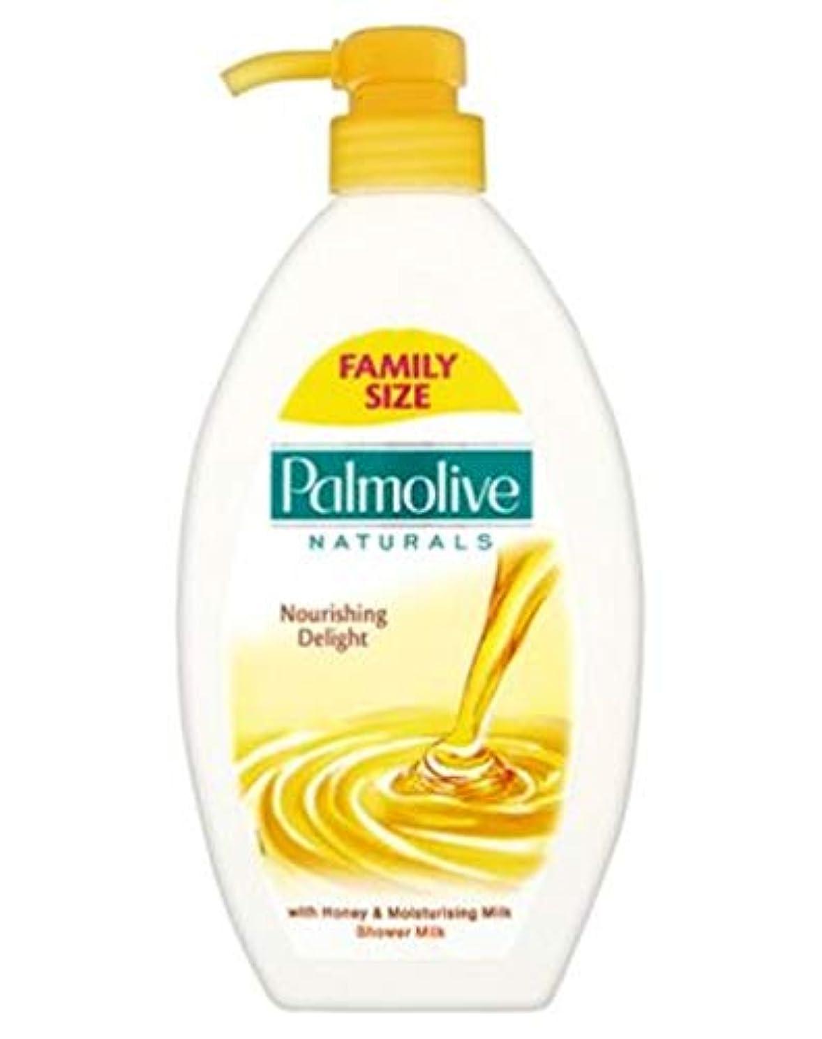 トランクライブラリ果てしない足[Palmolive] パルモ栄養歓喜のシャワーミルク&ハニーポンプ750ミリリットル - Palmolive Nourishing Delight Shower Milk & Honey Pump 750ml [並行輸入品]