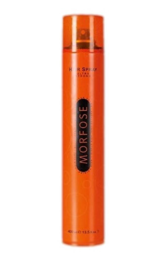 基本的な花火位置するMorfose MORFOSE HAIRはMORFOSEによってULTRA STRONG 400ミリリットルスプレー