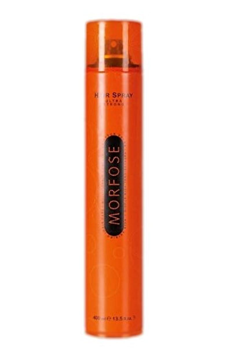 アブセイ輝度周囲Morfose MORFOSE HAIRはMORFOSEによってULTRA STRONG 400ミリリットルスプレー