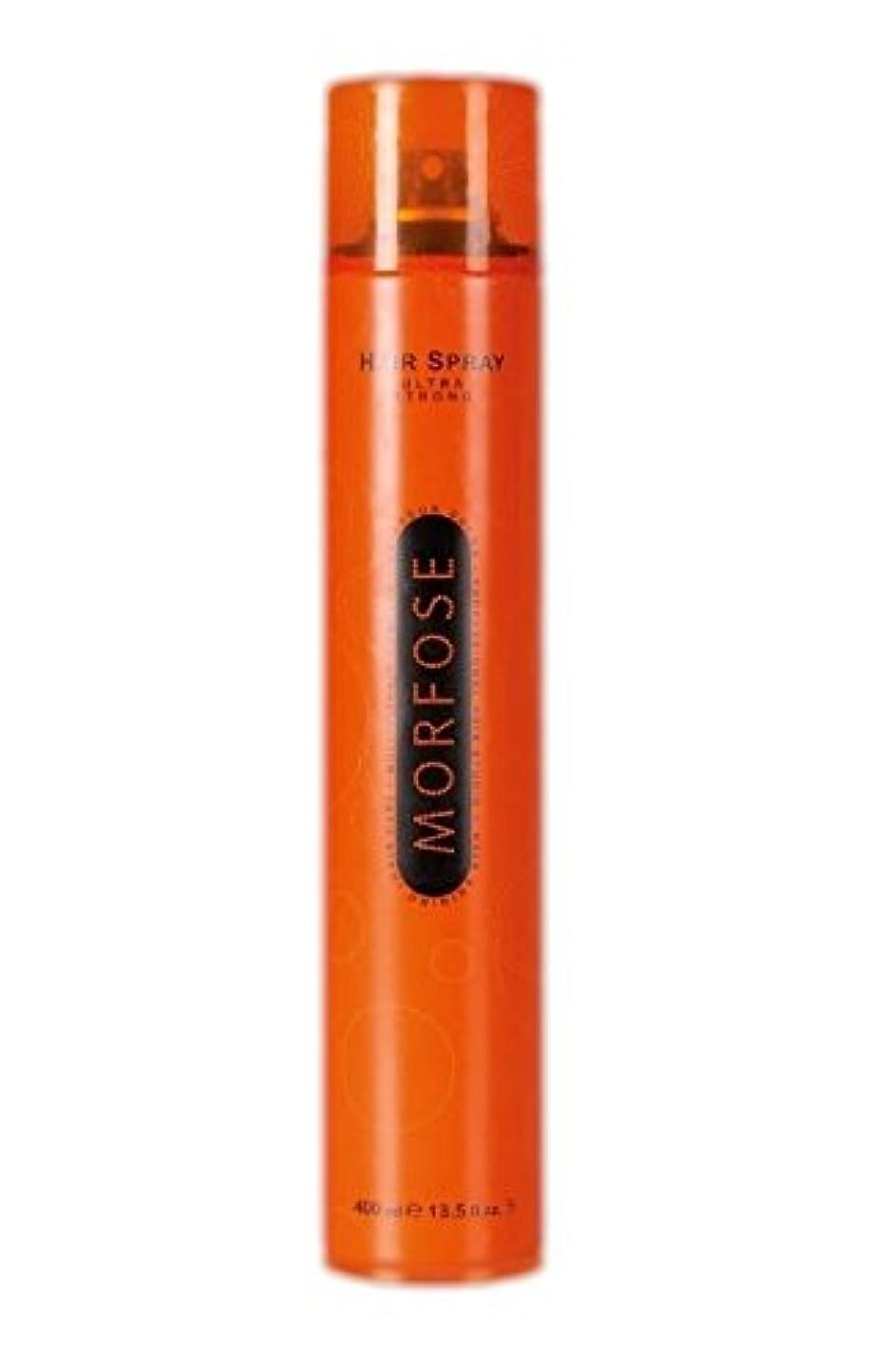 悲鳴電極水平Morfose MORFOSE HAIRはMORFOSEによってULTRA STRONG 400ミリリットルスプレー