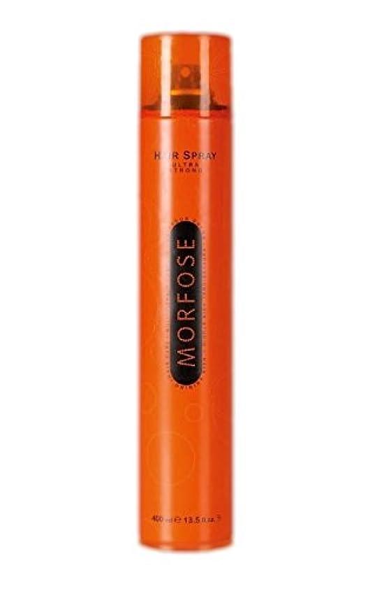 頬と特許Morfose MORFOSE HAIRはMORFOSEによってULTRA STRONG 400ミリリットルスプレー