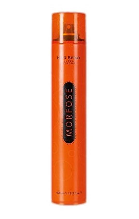 牽引発音する想定Morfose MORFOSE HAIRはMORFOSEによってULTRA STRONG 400ミリリットルスプレー