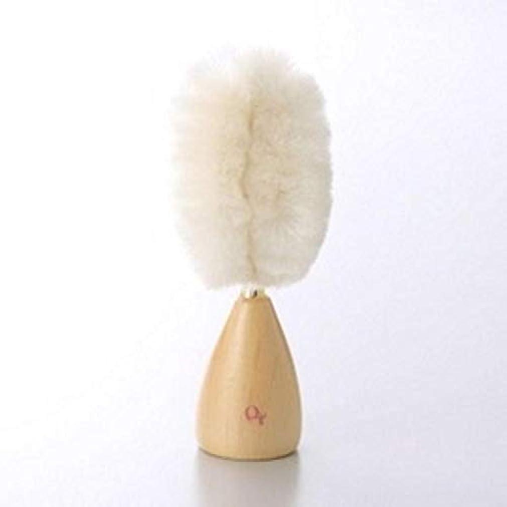 消化器反発アウトドア雪繭 雪繭 洗顔ブラシ(白) 1個