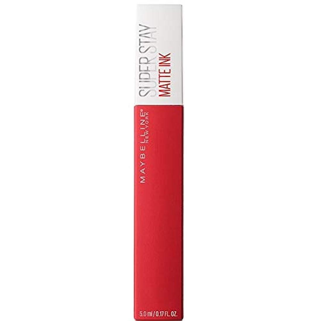 雷雨韻大声で[Maybelline ] メイベリンSuperstayマットインク液20パイオニア - Maybelline Superstay Matte Ink Liquid 20 Pioneer [並行輸入品]