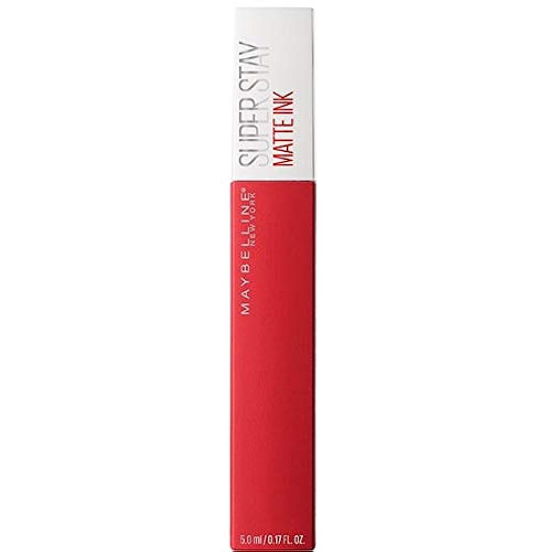 活性化ライブ遠い[Maybelline ] メイベリンSuperstayマットインク液20パイオニア - Maybelline Superstay Matte Ink Liquid 20 Pioneer [並行輸入品]