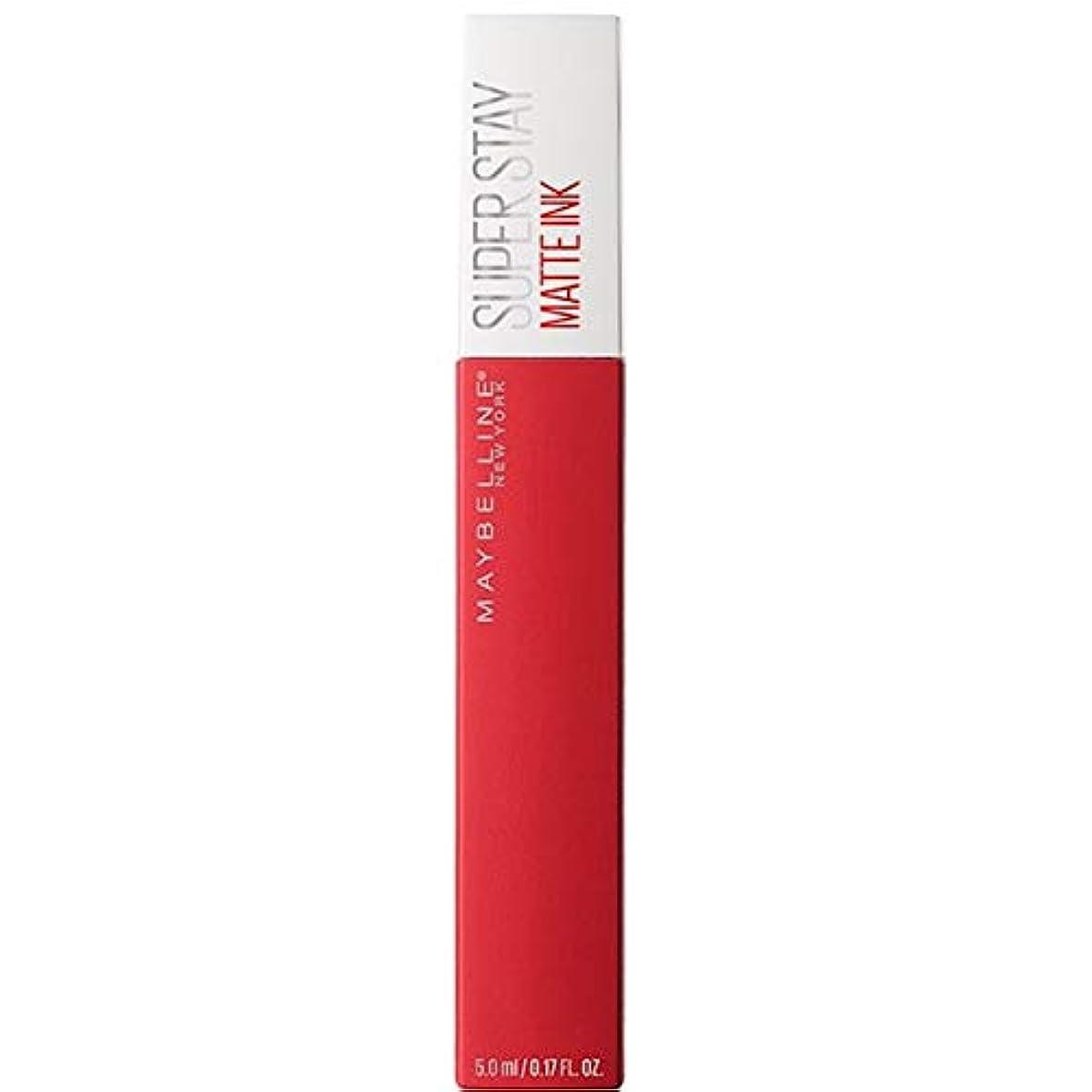 ヘルパーバイパス仲人[Maybelline ] メイベリンSuperstayマットインク液20パイオニア - Maybelline Superstay Matte Ink Liquid 20 Pioneer [並行輸入品]