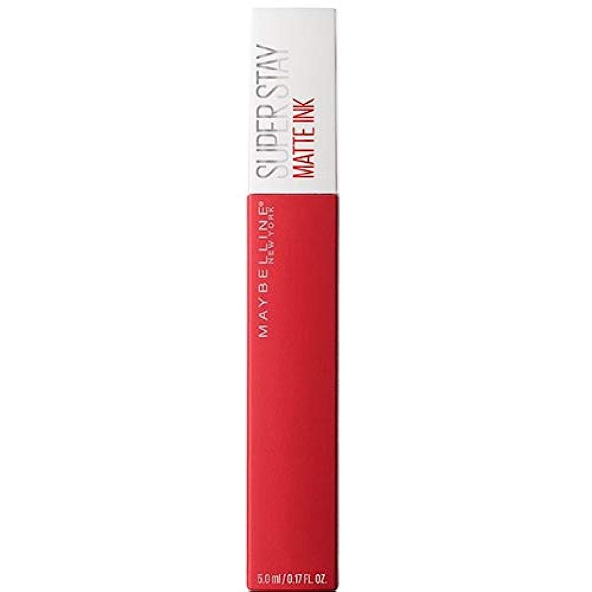 子豚広げるワット[Maybelline ] メイベリンSuperstayマットインク液20パイオニア - Maybelline Superstay Matte Ink Liquid 20 Pioneer [並行輸入品]