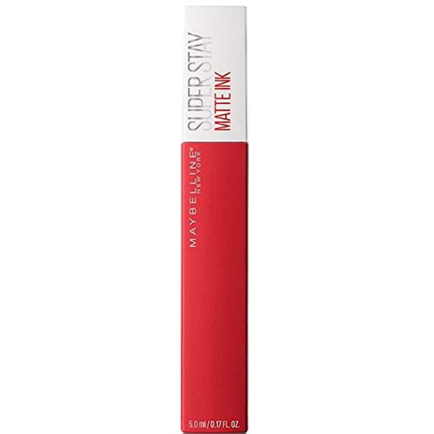 ハムの量農場[Maybelline ] メイベリンSuperstayマットインク液20パイオニア - Maybelline Superstay Matte Ink Liquid 20 Pioneer [並行輸入品]