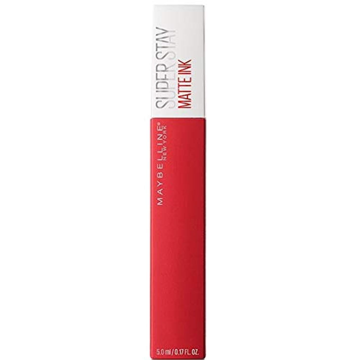 怠けた寮ラオス人[Maybelline ] メイベリンSuperstayマットインク液20パイオニア - Maybelline Superstay Matte Ink Liquid 20 Pioneer [並行輸入品]