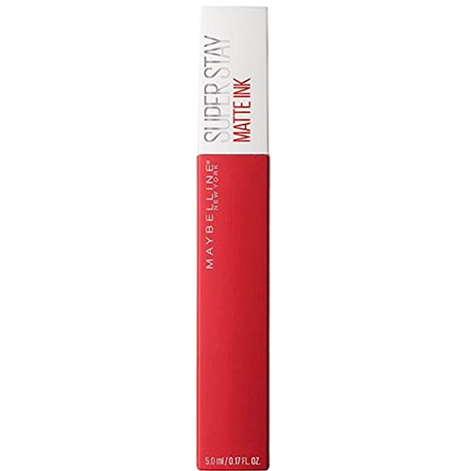 ラベル血まみれの私達[Maybelline ] メイベリンSuperstayマットインク液20パイオニア - Maybelline Superstay Matte Ink Liquid 20 Pioneer [並行輸入品]