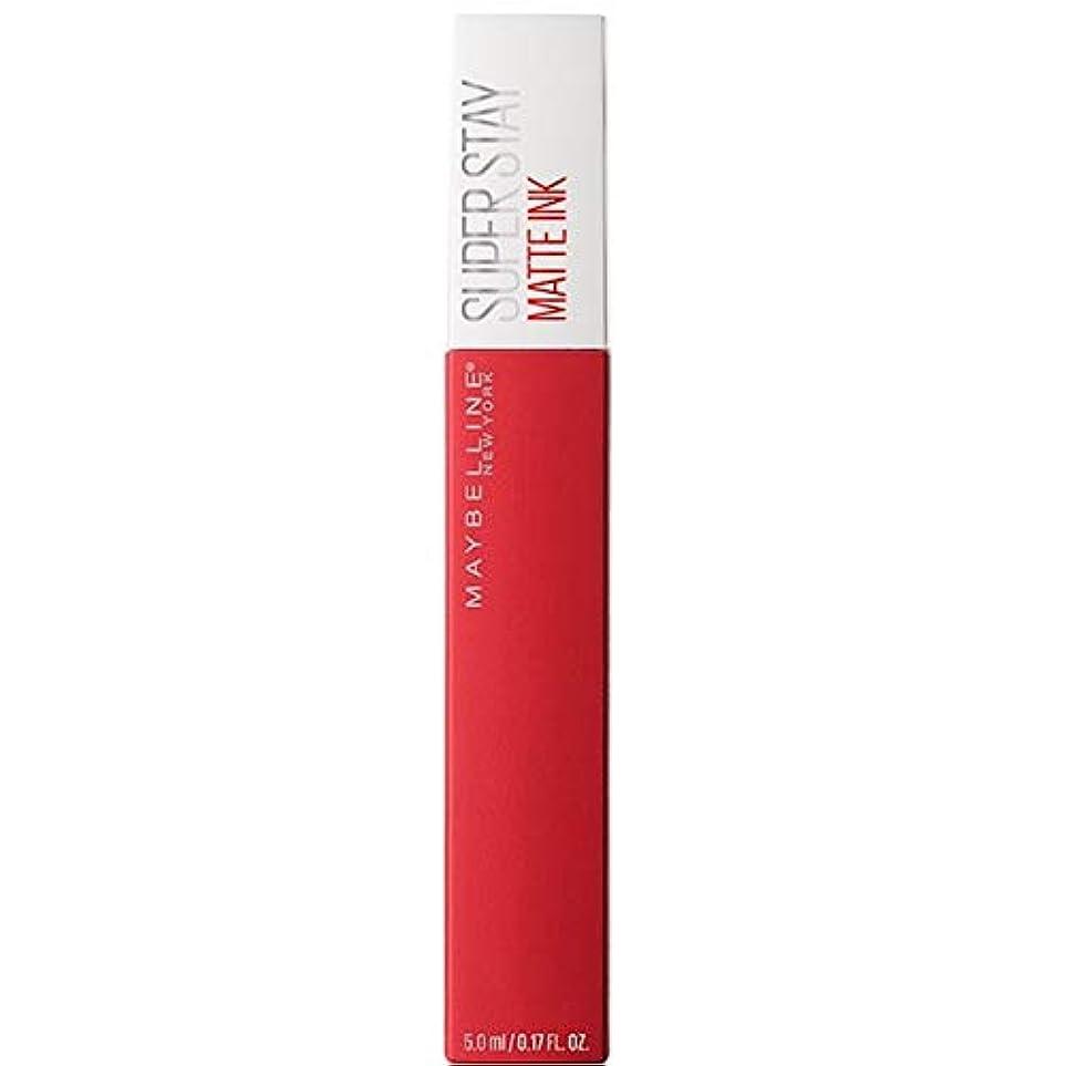 れる隙間寝る[Maybelline ] メイベリンSuperstayマットインク液20パイオニア - Maybelline Superstay Matte Ink Liquid 20 Pioneer [並行輸入品]