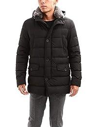 HERNO (ヘルノ) PI0475U N-3B Nylon Down Jacket (ナイロン ダウン ジャケット) 撥水 ナイロン ダウン ジャケット BLACK (ブラック・9300)
