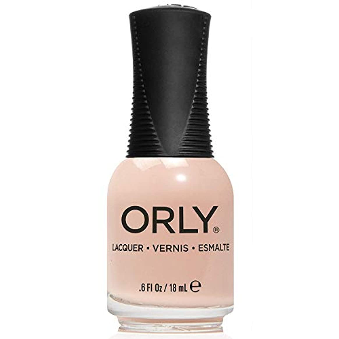 画家ずらす故障Orly Nail Lacquer - Pastel City 2018 Spring Collection - Cyber Peach - 18 mL / 0.6 oz