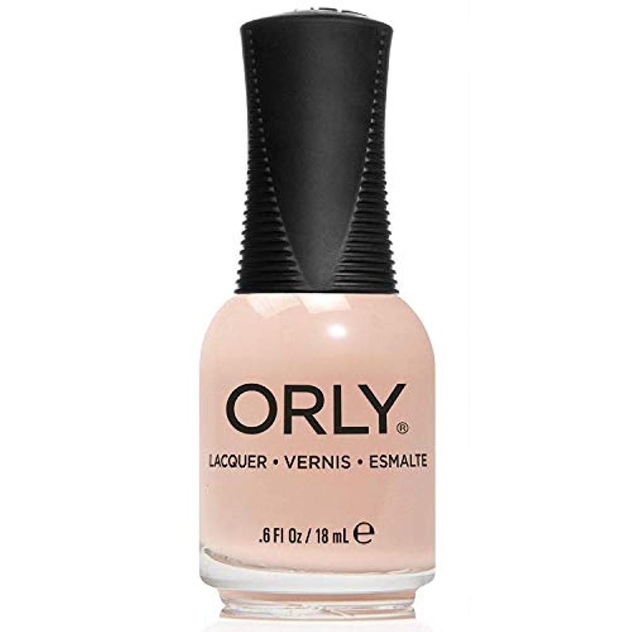 写真参加する用量Orly Nail Lacquer - Pastel City 2018 Spring Collection - Cyber Peach - 18 mL / 0.6 oz