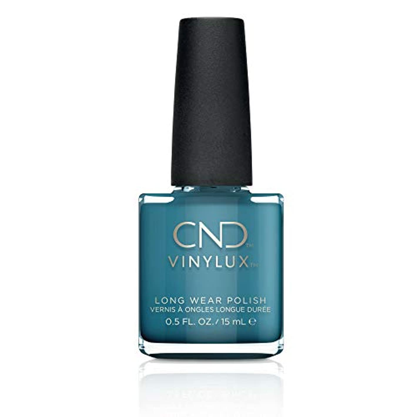 打撃磁器宗教CND Vinylux Nail Polish - Fall 2017 Night Spell Collection - Viridian Veil - 0.5oz / 15ml