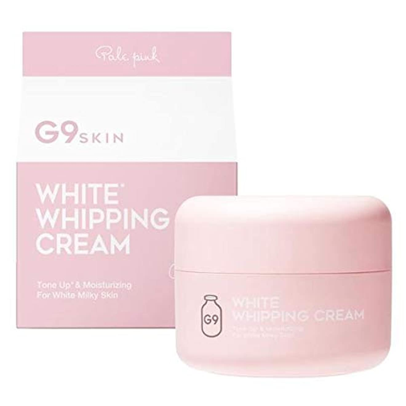 ロゴ複製傑出したホワイトホイッピングクリーム ピンク 50g