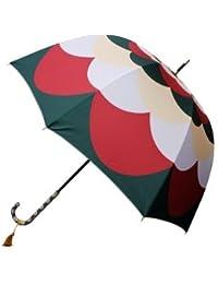 丸屋根深張傘-ダリア アパッチグリーン(まるやねふかばりがさ)