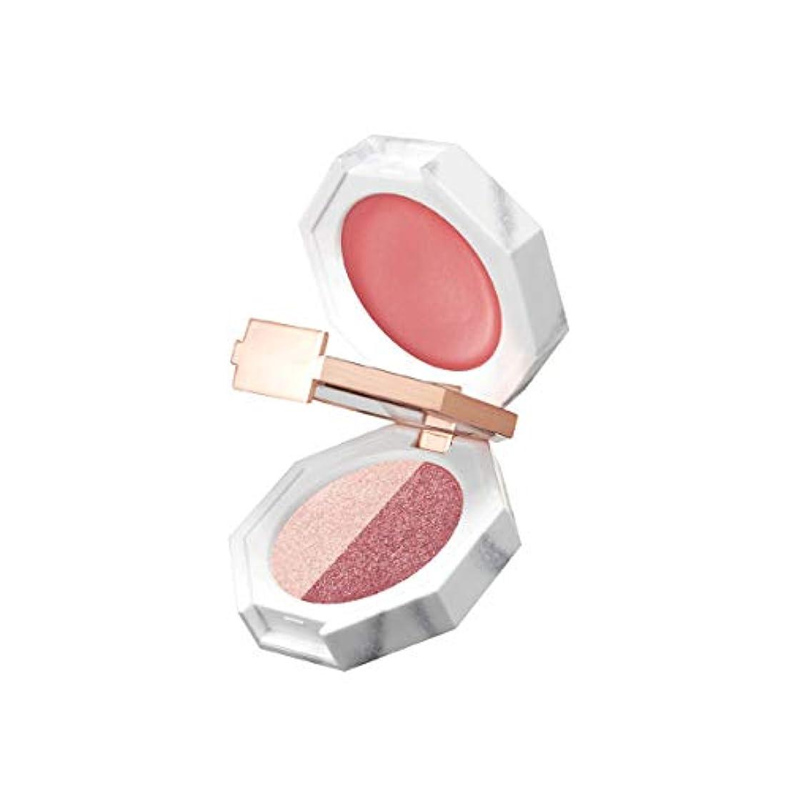 じゃがいもセグメントテクトニック[ディアダリア]Dear Dahlia パラダイスデュアルパレット ストロベリーディライト 海外直商品 Paradise Dual Palette (Strawberry Crush)