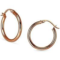 Hoop Earrings Small Size 2mmx20mm For Women