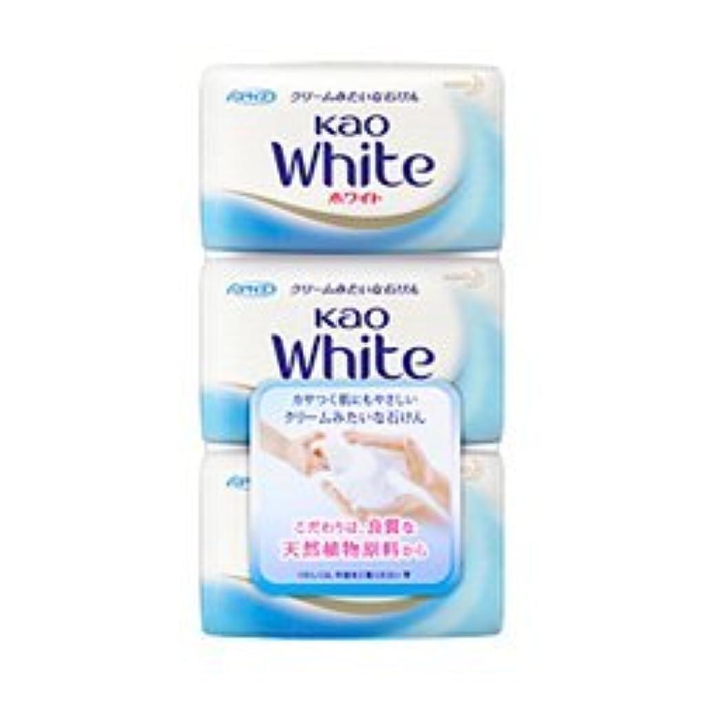 ながらシャワーホイップ【花王】花王ホワイト バスサイズ (130g×3個) ×10個セット