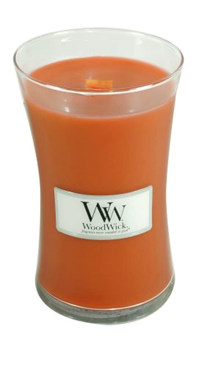 脅威電極なぜ(Large Jar) - WoodWick Candle, Large Pumpkin Butter Jar