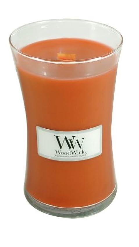 ブランド名伝統逮捕(Large Jar) - WoodWick Candle, Large Pumpkin Butter Jar