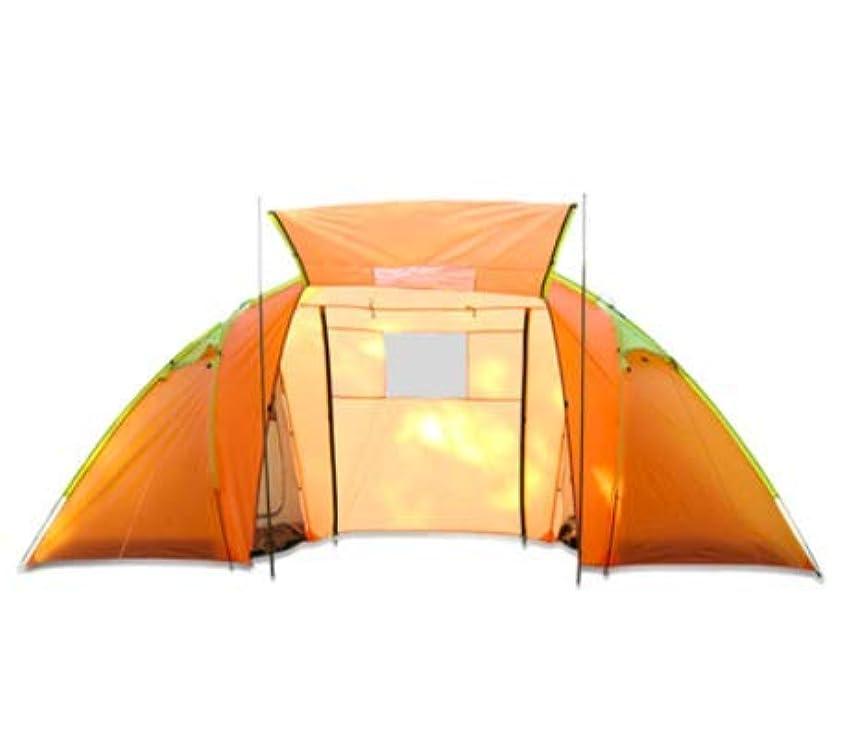 発明解読するグレートバリアリーフ屋外の2ベッドルーム、1部屋の手動キャンプテント4人防水と蚊帳の観光キャンプテント