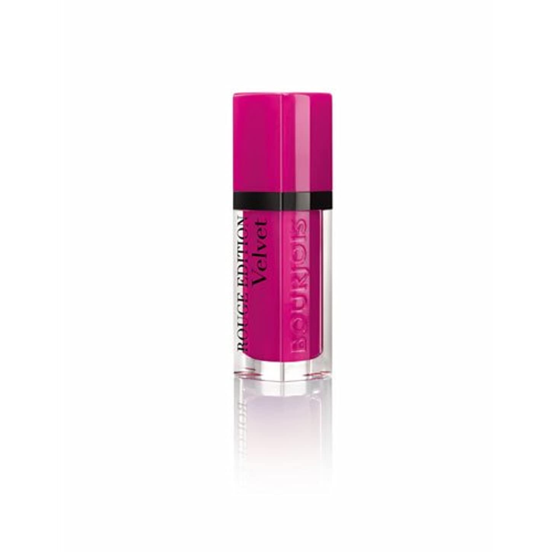 ビタミンレオナルドダ無一文ブルジョワ ルージュエディション ヴェルベット リップスティック (06 ピンク ポング) BOURJOIS ROUGE EDITION VELVET LIPSTICK 06 Pink Pong(ポスト投函対応) [並行輸入品]