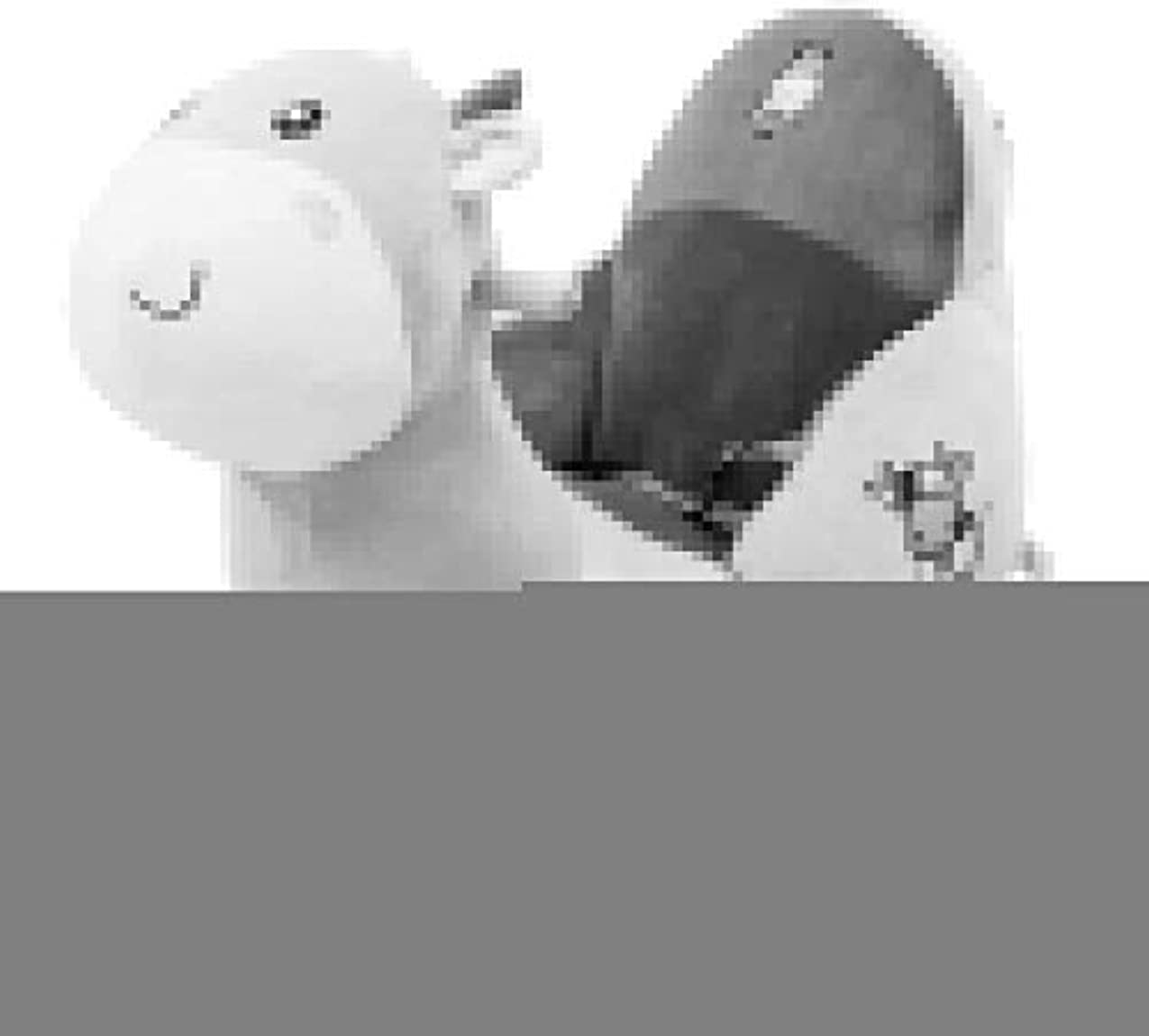 広告放射能腐敗したLINGZHIGAN ロッキングホース赤ちゃん子供の男の子と女の子子供キッドロッキングチェア0-3歳音楽玩具ホイールデュアル使用して1で馬のロッキング2