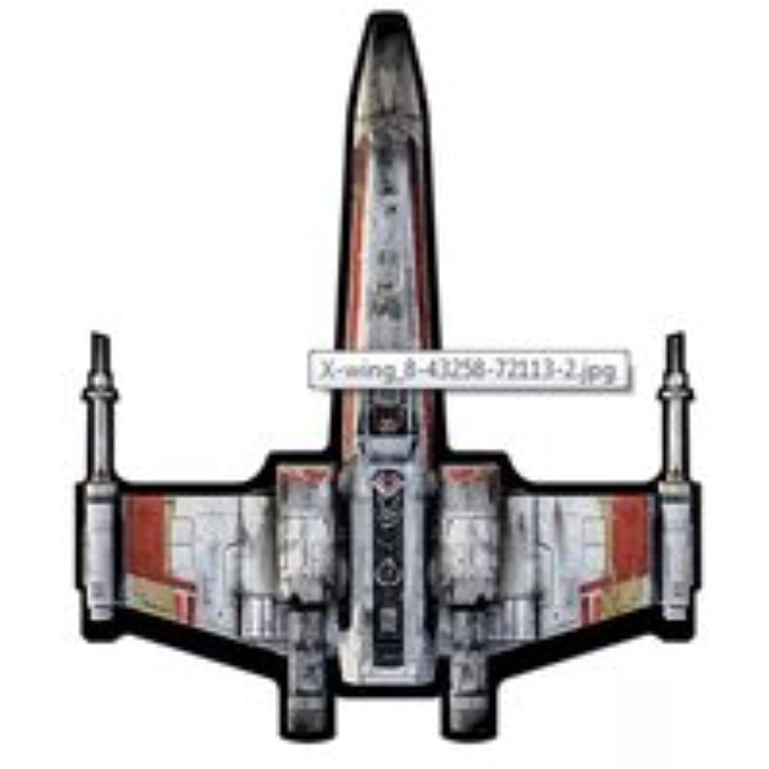 WINDNSUN Star Wars Super Sized Kite Nylon Ripstop Fabric with Skytails (X-Wing Fighter 130cm )