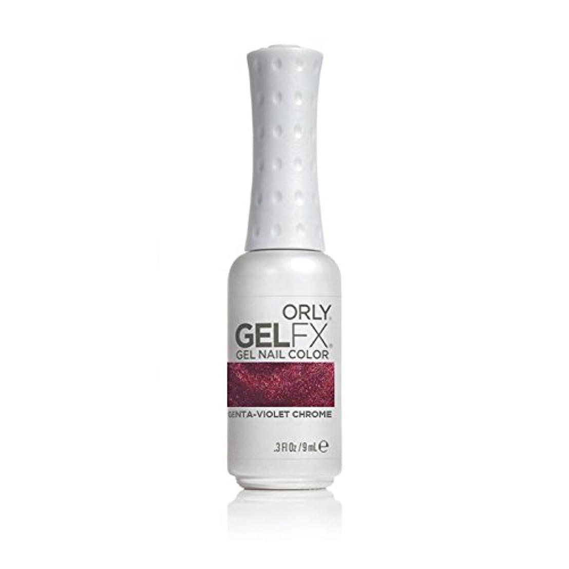 北方皮肉ご近所Orly Gel Fx Nail Color, Duo Chrome Magenta Violet Chrome, 0.3 Ounce by Orly