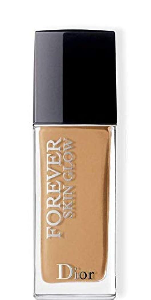 輸送一時的オーガニッククリスチャンディオール Dior Forever Skin Glow 24H Wear High Perfection Foundation SPF 35 - # 4WO (Warm Olive) 30ml/1oz並行輸入品