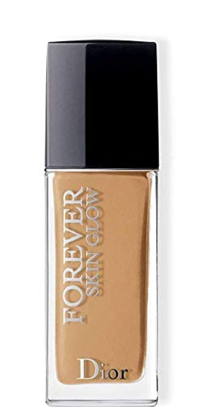 本物のサンダース唇クリスチャンディオール Dior Forever Skin Glow 24H Wear High Perfection Foundation SPF 35 - # 4WO (Warm Olive) 30ml/1oz並行輸入品