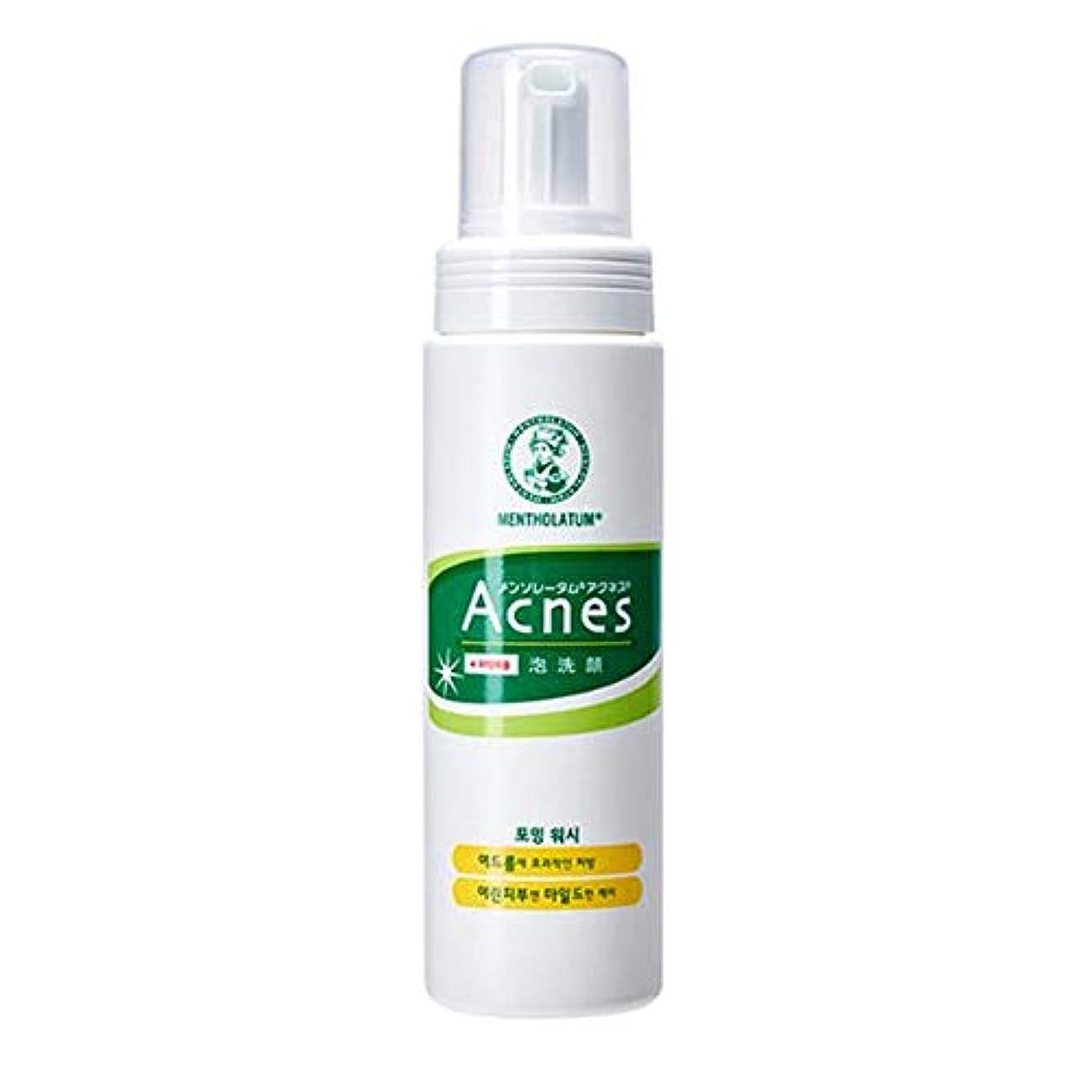 にやにや立ち向かうモスク[Acnes] アクネス フォーミング ウォッシュ Foaming Wash メイク落とし - Acne Break Face Cleanser, Balance Oil Control Foaming Cleansing with Palmitic Acid for Oily and Sensitive Skin Korean Skincare #Dab1158