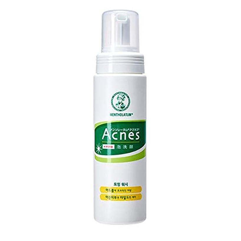 ゴールド内陸揮発性[Acnes] アクネス フォーミング ウォッシュ Foaming Wash メイク落とし - Acne Break Face Cleanser, Balance Oil Control Foaming Cleansing...