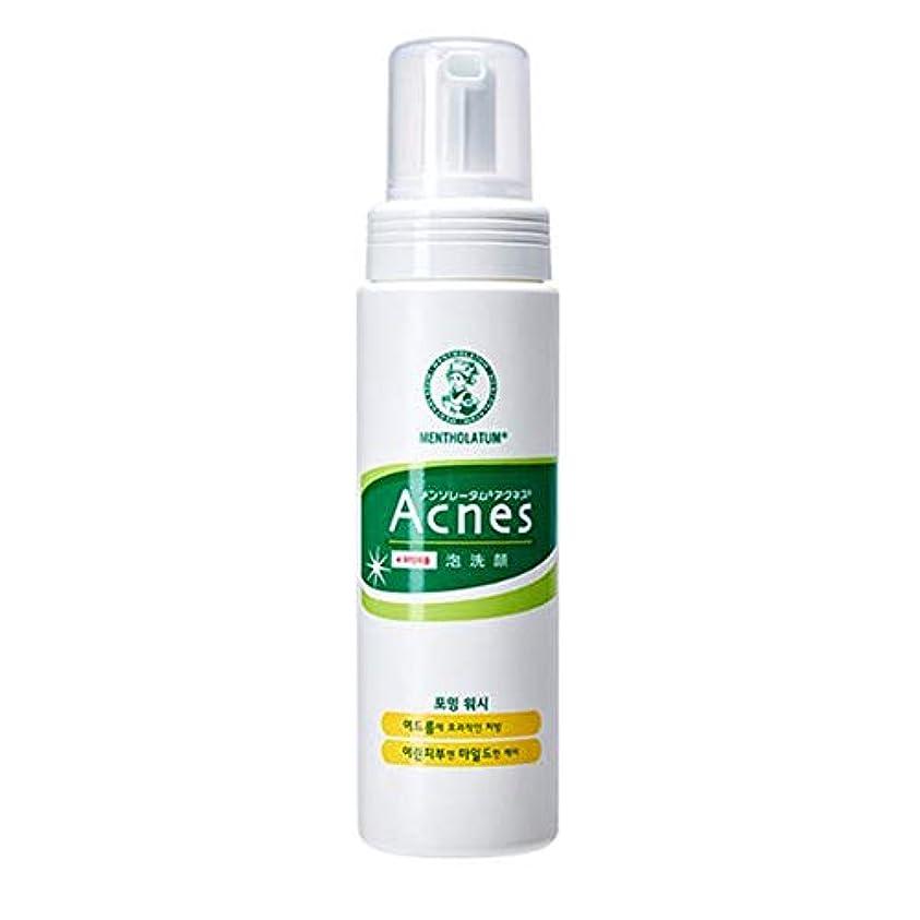 光景キノコ政令[Acnes] アクネス フォーミング ウォッシュ Foaming Wash メイク落とし - Acne Break Face Cleanser, Balance Oil Control Foaming Cleansing...