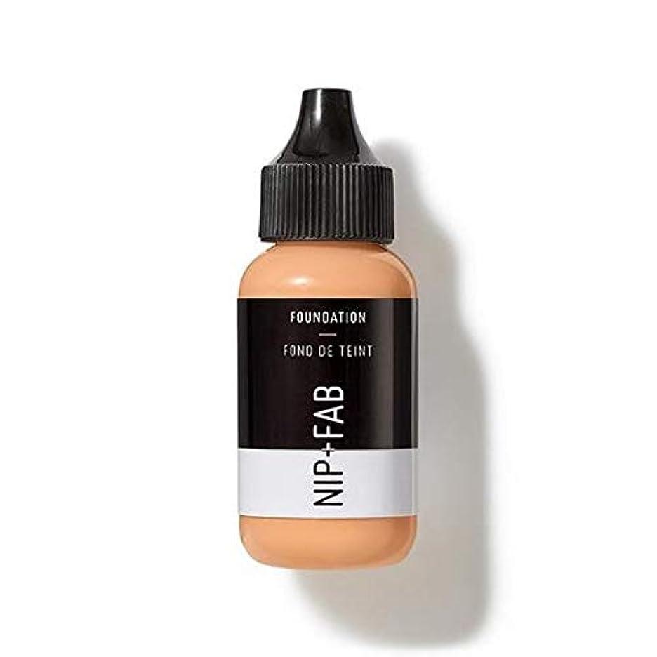 宣伝宣伝うん[Nip & Fab ] 基礎30ミリリットル25を構成しているFab +ニップ - NIP+FAB Make Up Foundation 30ml 25 [並行輸入品]