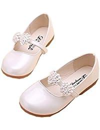 LAZA フォーマルベビーシューズ 子供靴 スニーカー 七五三・発表会・結婚式 演奏会 花嫁介添人 (内寸22CM, ホワイト)