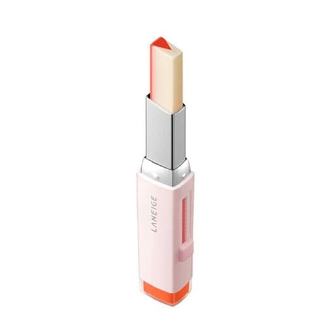 注意鉄道駅花火[New] LANEIGE Two Tone Tint Lip Bar 2g/ラネージュ ツー トーン ティント リップ バー 2g (#02 Tangeine Slice) [並行輸入品]