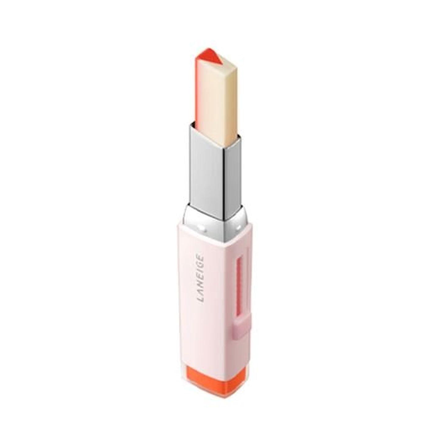 魅惑的な余剰混乱した[New] LANEIGE Two Tone Tint Lip Bar 2g/ラネージュ ツー トーン ティント リップ バー 2g (#02 Tangeine Slice) [並行輸入品]