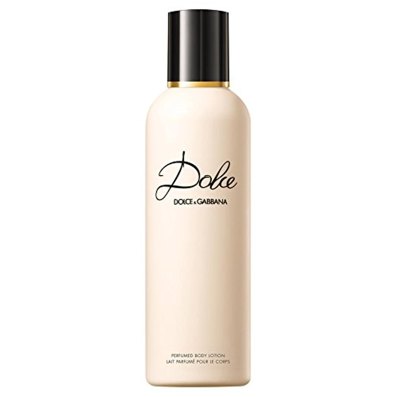 自動接触発火するドルチェ&ガッバーナドルチェのボディローション200ミリリットル (Dolce & Gabbana) - Dolce & Gabbana Dolce Body Lotion 200ml [並行輸入品]