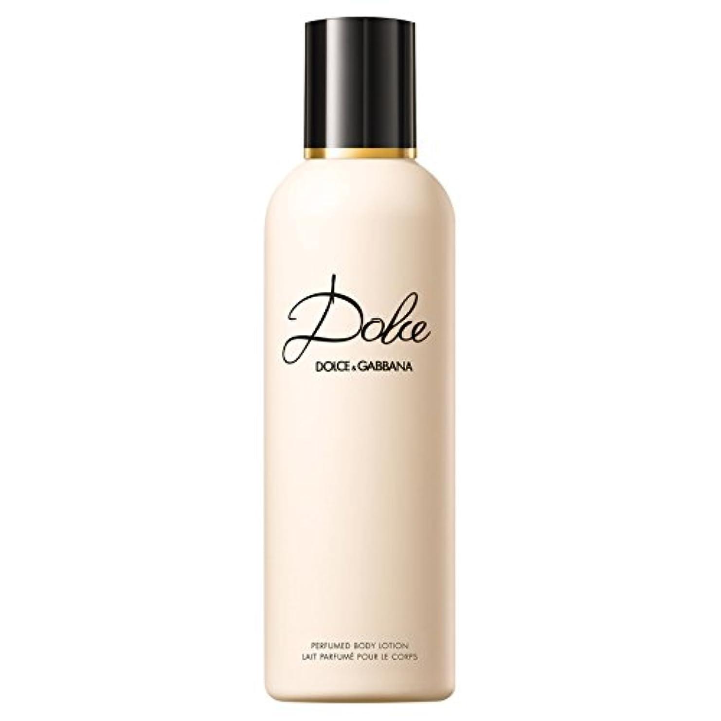 ボーナス文献満足させるドルチェ&ガッバーナドルチェのボディローション200ミリリットル (Dolce & Gabbana) (x6) - Dolce & Gabbana Dolce Body Lotion 200ml (Pack of 6)...