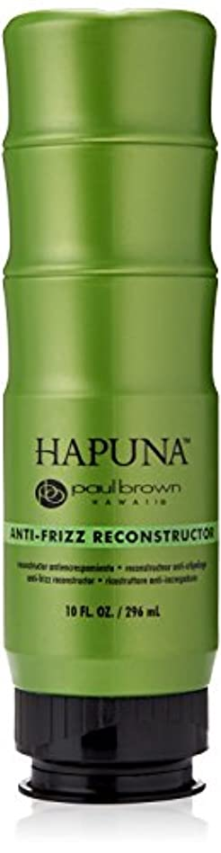レーザ暗記する国歌Paul Brown Hawaii ハプナアンチ縮れリコンストラクタヘアトリートメント、10オンス 10 fl。オンス 明確な