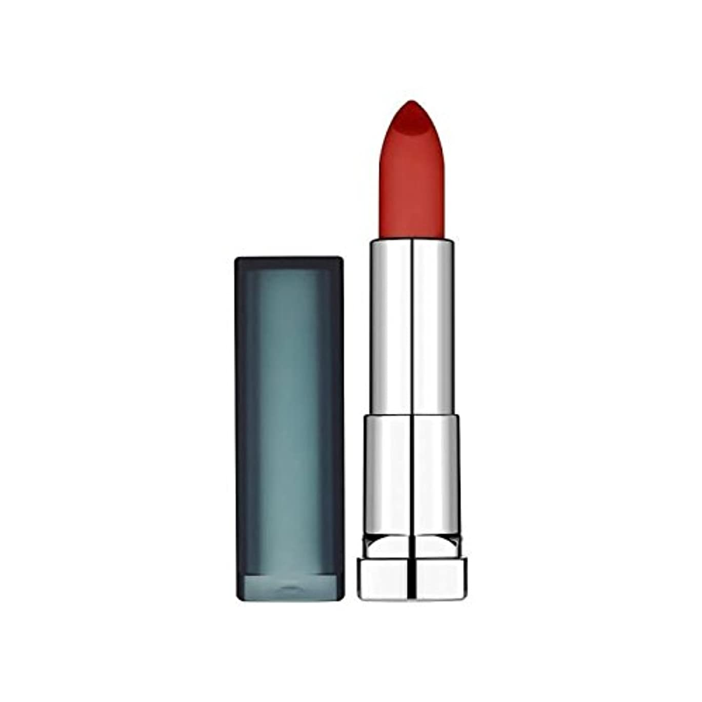 除去驚降臨Maybelline Sensational Lipstick Creamy Matte Burgundy Blush - メイベリンセンセーショナルな口紅クリーミーマットバーガンディ赤面 [並行輸入品]