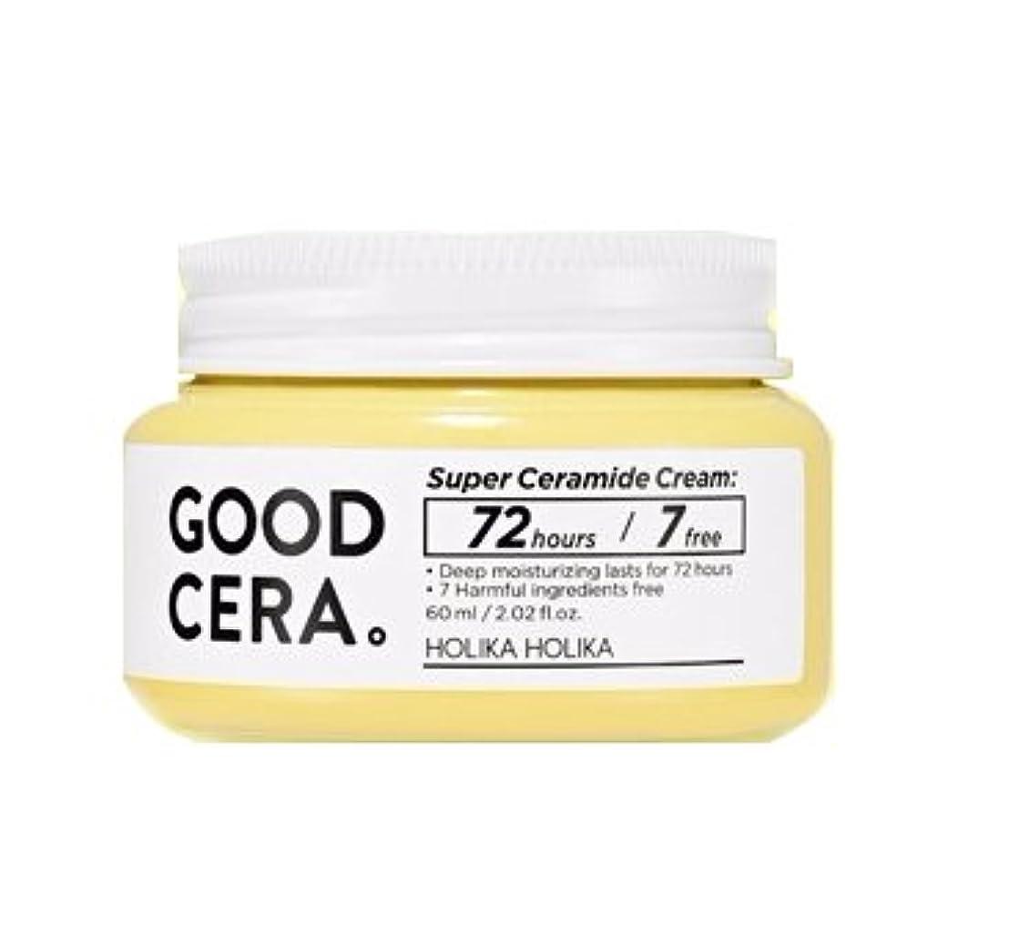 クルーズ腹部グリーンバック[NEW] ホリカホリカ スーパーセラミドクリーム 60ml / HOLIKA HOLIKA Super Ceramide Cream [並行輸入品]