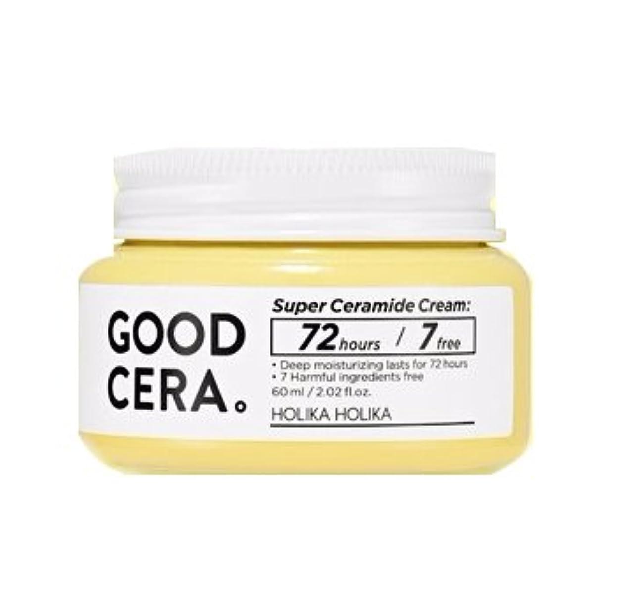 顎避けるハブ[NEW] ホリカホリカ スーパーセラミドクリーム 60ml / HOLIKA HOLIKA Super Ceramide Cream [並行輸入品]