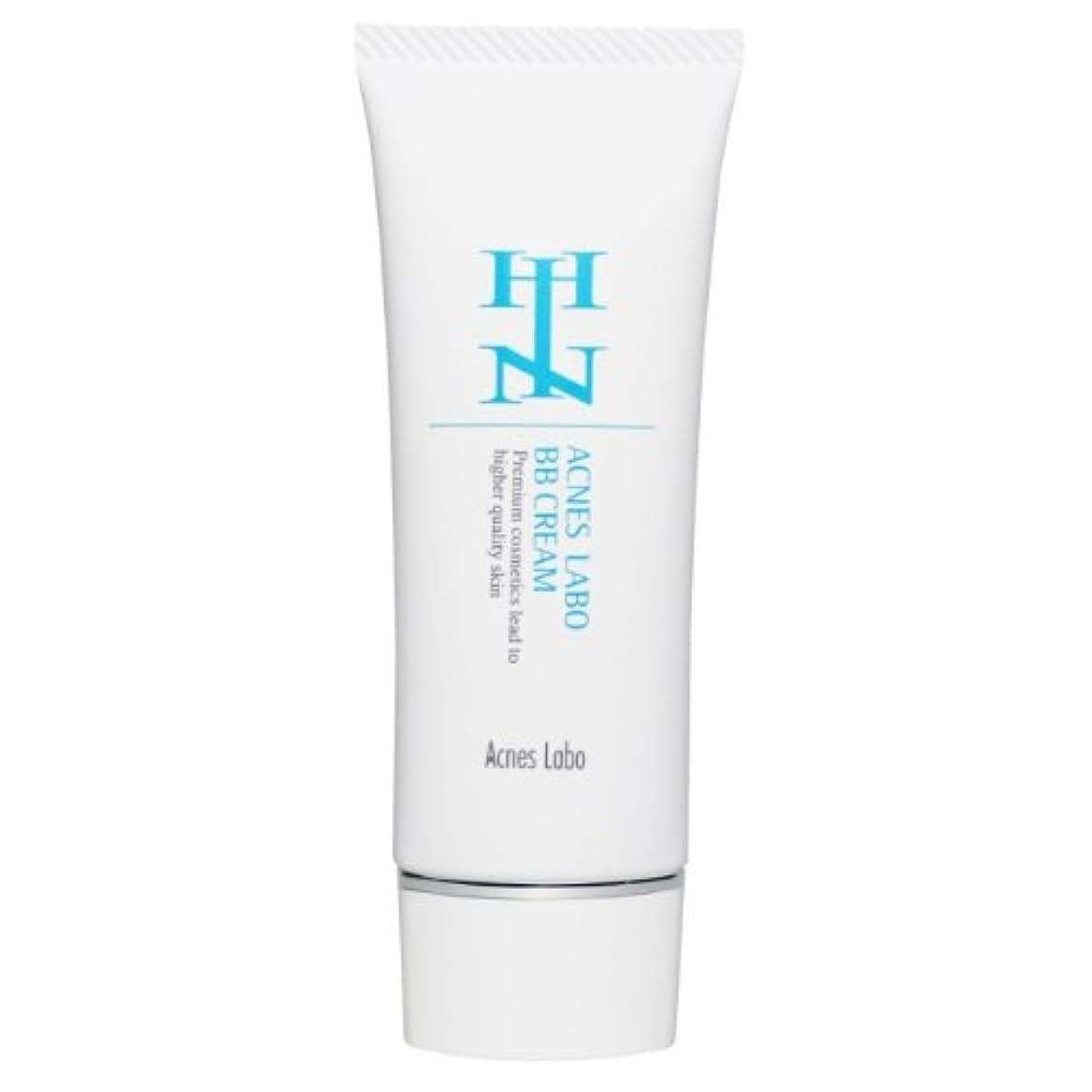 扱いやすいバクテリア生産性HINアクネスラボ 薬用BBクリーム ベージュ 35g