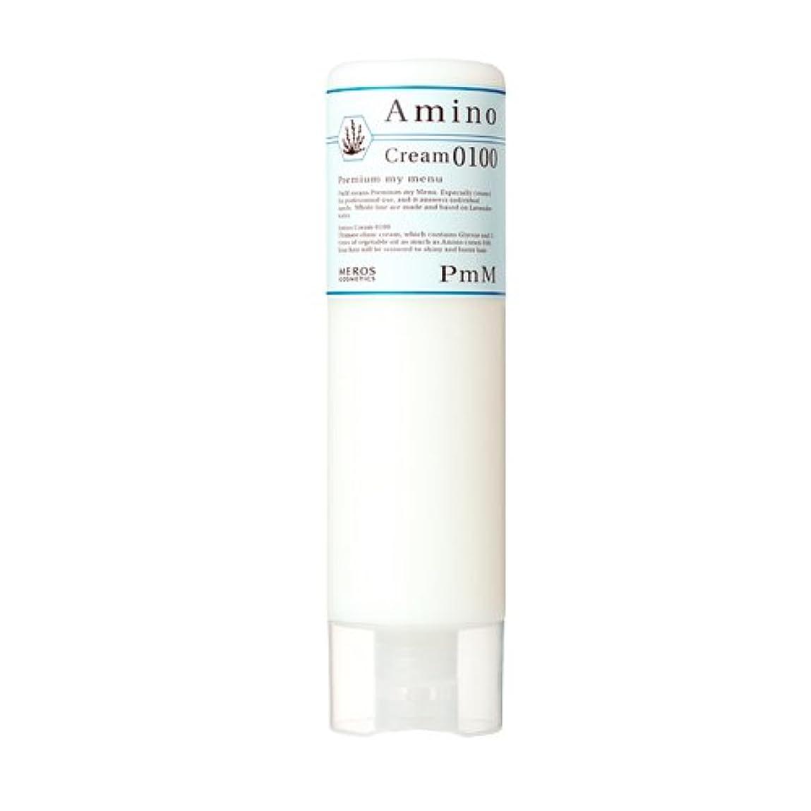 顎咳掃除メロスコスメティックス PmM アミノクリーム0100(しっとりタイプ) 300g