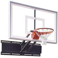 最初チームUnichamp Nitro steel-glass調節可能な壁マウントバスケットボールsystem44 ; grey44 ;調節可能な壁マウントバスケットボールシステム
